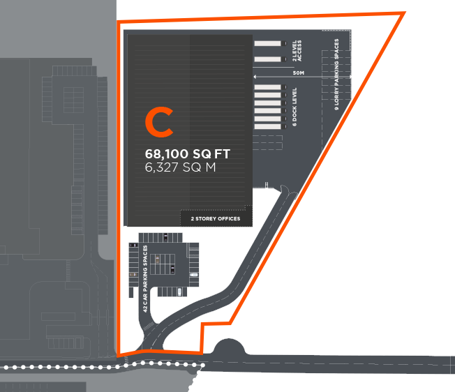 ICON Industrial Harlow Unit B Floorplan